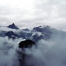 Mountain covered in Clouds - 529 by 945ontwerp