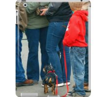 Kids and Puppies...and Blue Jeans iPad Case/Skin