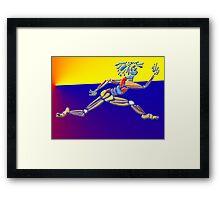 Le Leap Framed Print
