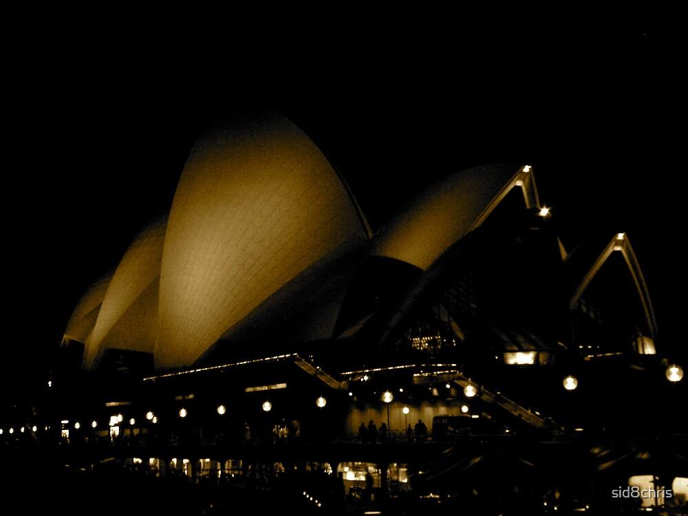 Night time Opera by sid8chris