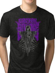 Coffin (Purple) Tri-blend T-Shirt