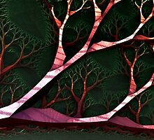 Trees:  Forest Canopy by Bunny Clarke