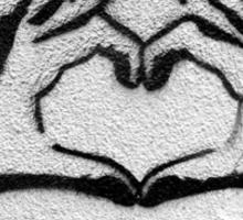 Banksy - Love Sticker