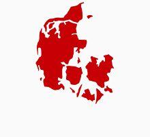 Denmark map Unisex T-Shirt