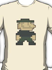 8-Bit Mario Call OF Duty Emblem T-Shirt