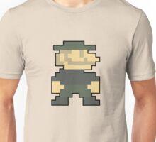 8 bit Mario Emblem Unisex T-Shirt