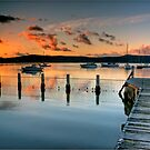 Day's End Yattalunga by Annette Blattman