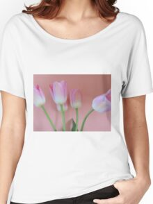 Romancing Tulips Women's Relaxed Fit T-Shirt