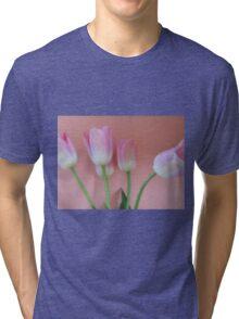 Romancing Tulips Tri-blend T-Shirt