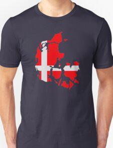 Denmark map flag T-Shirt
