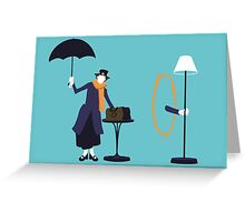 Poppins Portal Greeting Card