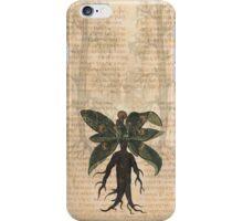 Medieval Mandrake Man iPhone Case/Skin