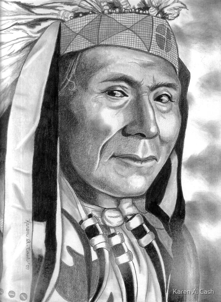 'Chief Daniel'-Wasco by Karen A. Cash