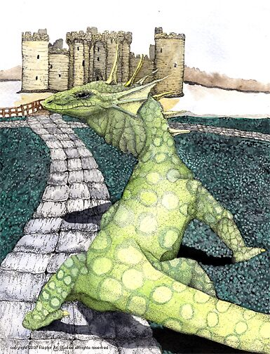 The Green Dragon by Preston  Shupp