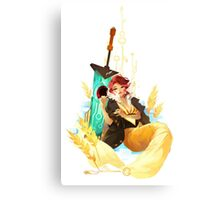 See You in the Country -Transistor Canvas Print