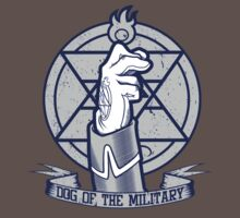 Dog of the Military: Flame T-Shirt