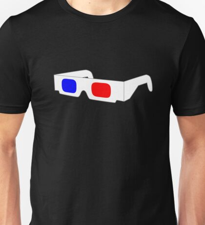 3-D Glasses Unisex T-Shirt