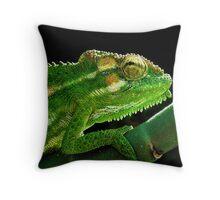 Cape Dwarf Chameleon Throw Pillow