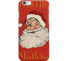 Ho Ho Hos... Red iPhone Case/Skin