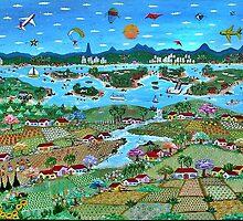 Brazil in Watercolor by Lilian Bernoldi