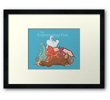 The Cryptozoology Club Framed Print