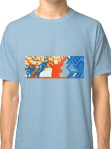 The deer in the forest Classic T-Shirt