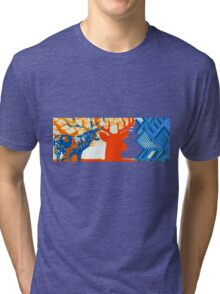 The deer in the forest Tri-blend T-Shirt