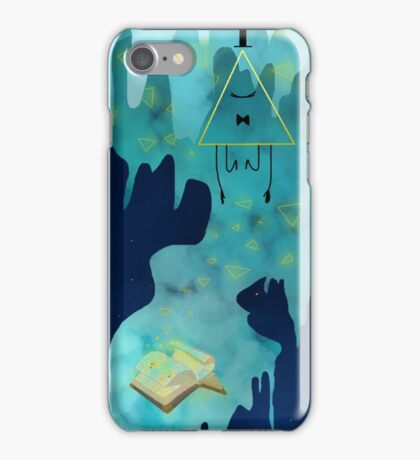 The Demon and the Book iPhone Case/Skin