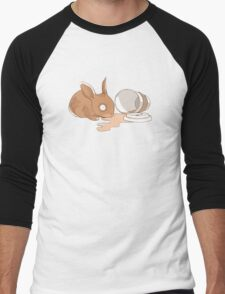 Coffy Rabbit Men's Baseball ¾ T-Shirt