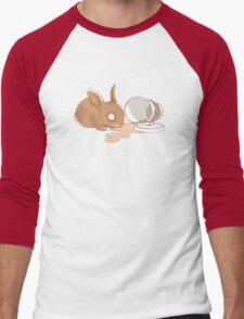 Coffy Rabbit Men's Baseball ¾ T-Shirt