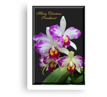 Merry Christmas Sweetheart Canvas Print