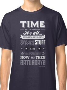 Doctor Who Quote Classic T-Shirt