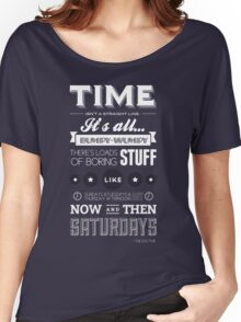 Doctor Who Quote Women's Relaxed Fit T-Shirt