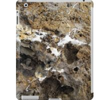 A Rocky face in the Ancient Rock. iPad Case/Skin