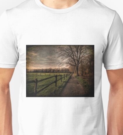 Textured Landscape | Germany Unisex T-Shirt