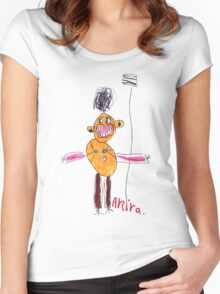 Self portrait at 5 Women's Fitted Scoop T-Shirt