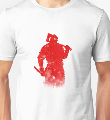 Beserker Class For Honor Silhouette Design Unisex T-Shirt