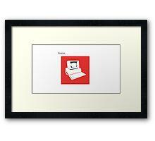 bland IBM Framed Print