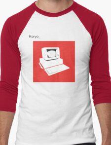 bland IBM Men's Baseball ¾ T-Shirt
