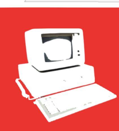 bland IBM Sticker