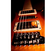 Gig Guitar Photographic Print