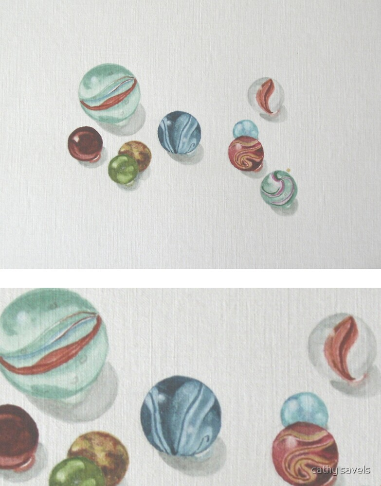 marbles by cathy savels