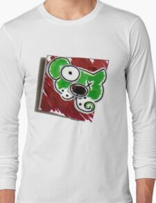Dog Pin Long Sleeve T-Shirt