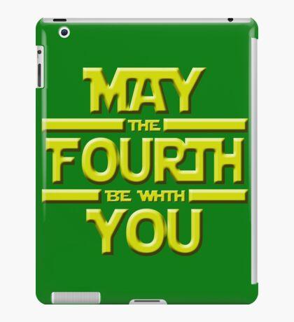 May the Fourth iPad Case/Skin