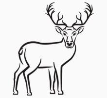Deer antlers Kids Tee