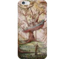 Fisherman of the Forest iPhone Case/Skin