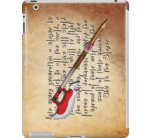 Buffy Slayer Scythe iPad Case/Skin