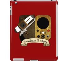 Warehouse 13 Agent iPad Case/Skin