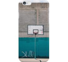 Basktball Court  iPhone Case/Skin