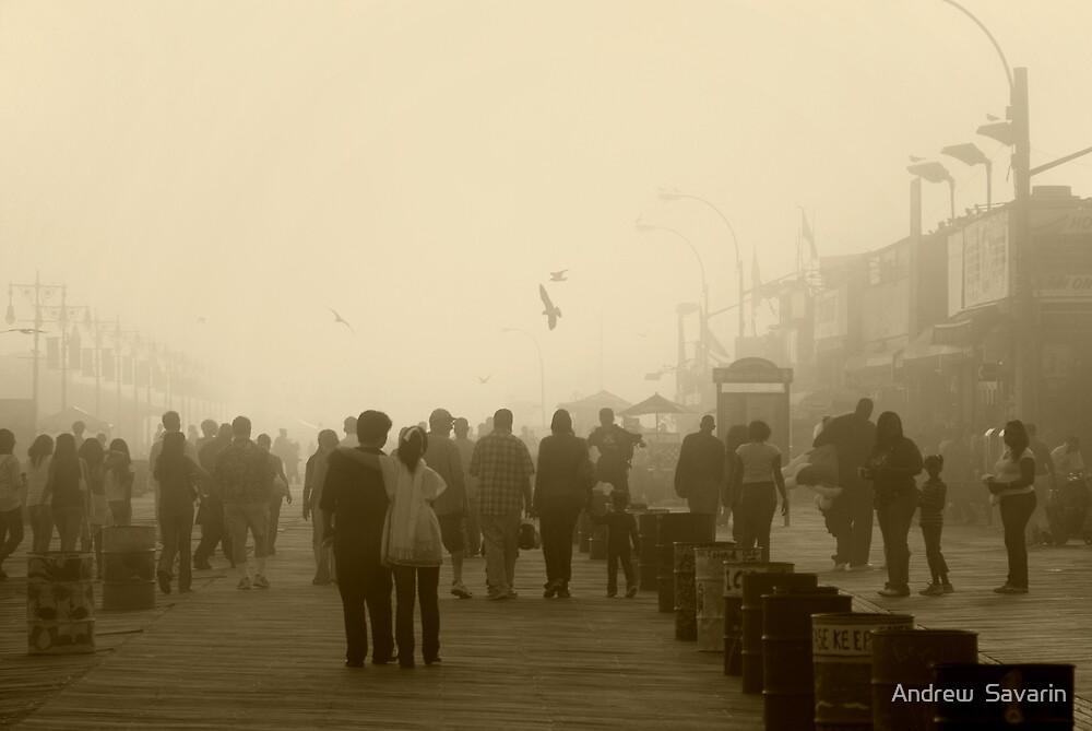 Hazy Day.  by Andrew  Savarin